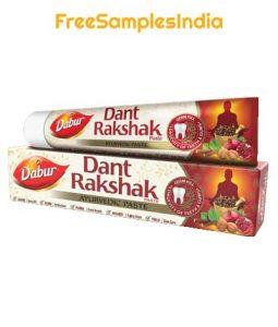 Dabur Toothpaste Free Sample